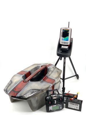 Toslon XBoat St.George Cross and Toslon TF740 Fishfinder, GPS, Autopilot