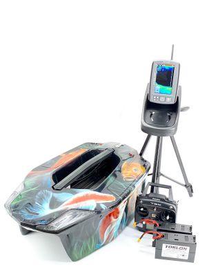 Toslon XBoat Koi Edition with Toslon TF740 Fishfinder, GPS, Autopilot