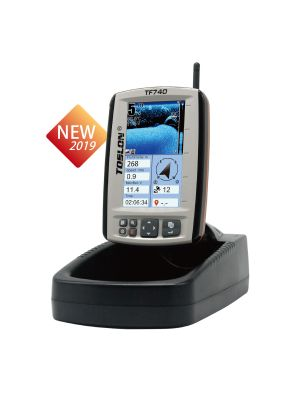 Toslon TF740 - Fishfinder, GPS, Compass Autopilot, 2D Mapping